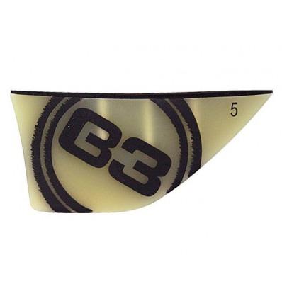 Aileron B3 G10 Twin Tip 6cm Hole 5mm