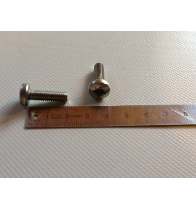 Vis inox 6 x 20 mm Footstraps Twin tip