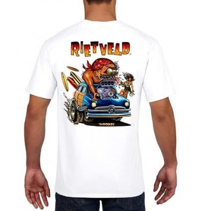 T-shirt Rietveld Woodie